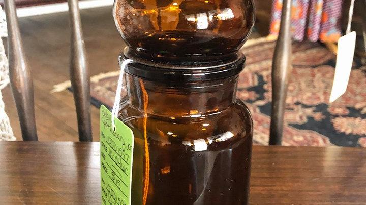 Medium Belgium Apothecary Jar with Lid