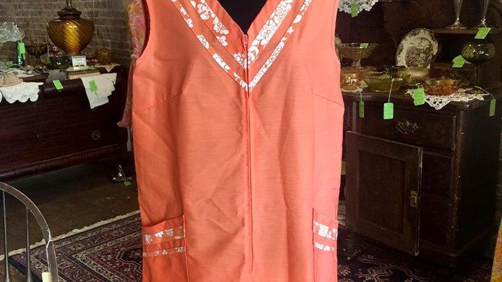 """""""Komar"""" dress with front zipper"""