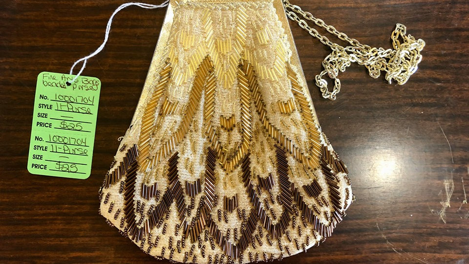 1950s Fine Arts Bags Vintage Beaded Purse