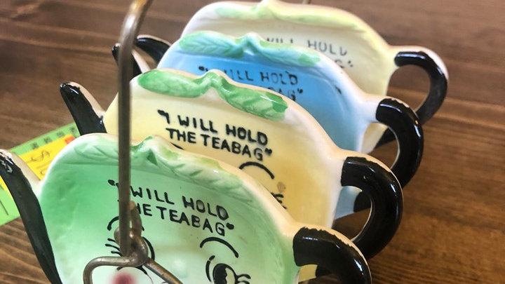 1950s Tea Bag Holders