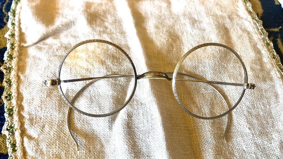 12K Gold Filled Antique Spectacles