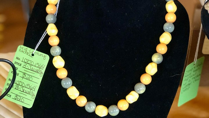 Mid-Century Beaded Necklace