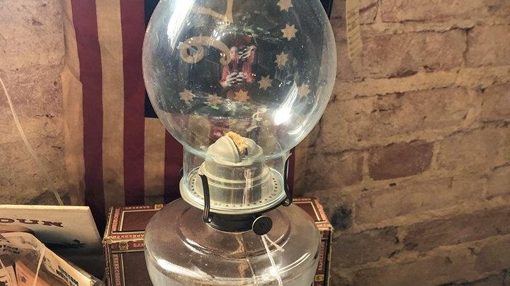 WBG Corp Eldorado Antique Oil Lamp 1878-1900