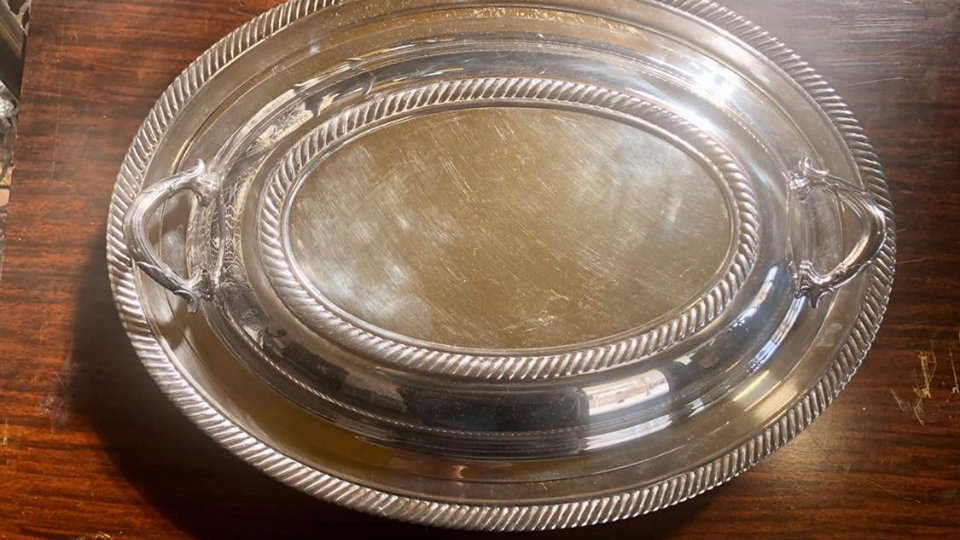 Castleton International Silver Company Serving Dish with Lid