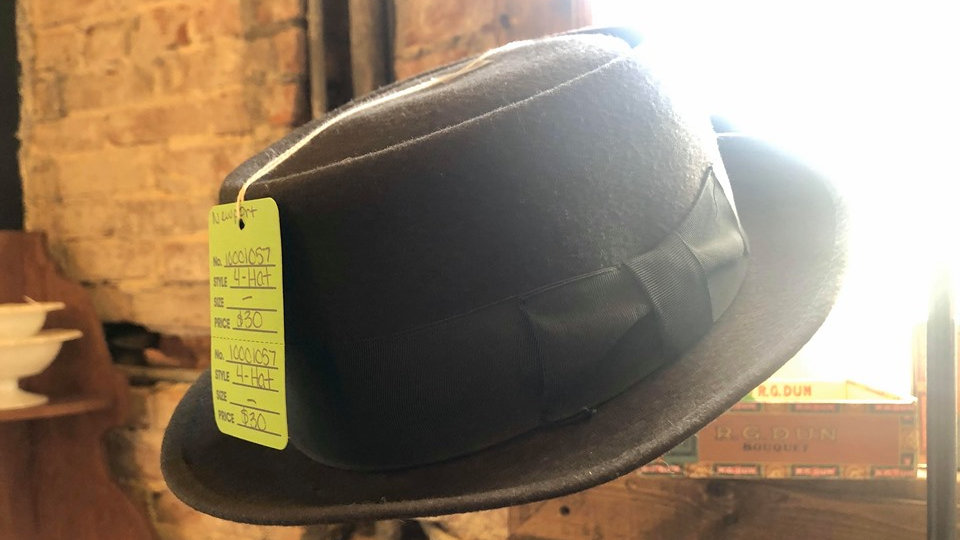 Newport vintage fedora