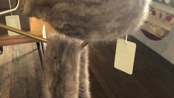 1950s Mink Fur Vintage Hat
