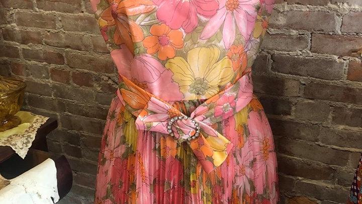 "1960s ""Alvin's Continental Room"" Dress"
