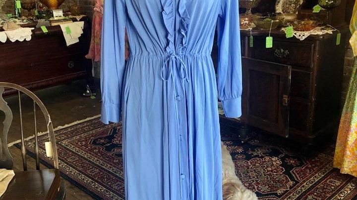 Full length button up dress