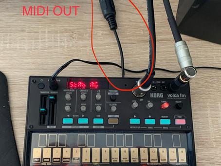 Volca FM Midi Out Mod