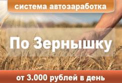 """""""По Зёрнышку"""" - система автоматического заработка"""