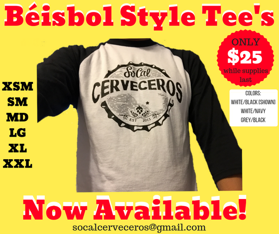 Beisbol Style T-Shirts Now Available!