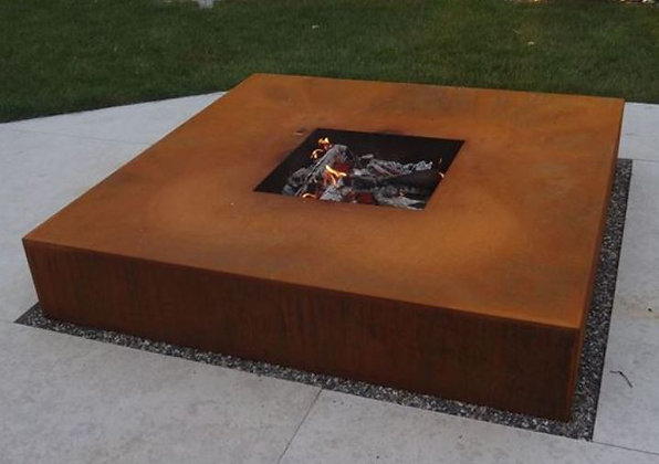 Conma Feuerschale Quader