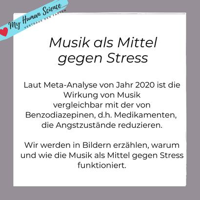 Musik gegen Stress