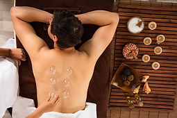 Cupping for quick release of pain