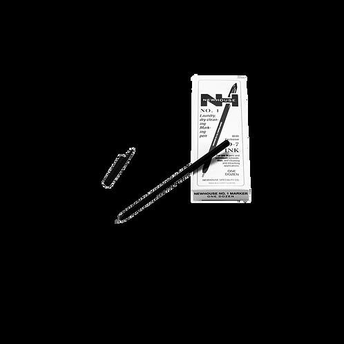 Lapicero Marcador Negro