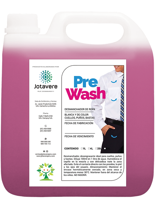 PreWash