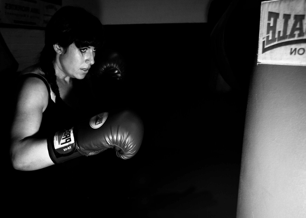 Libby boxing