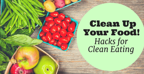 Clean Up your Diet with 5-tips