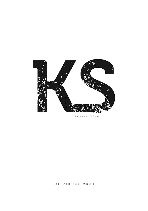 Affisch - Keyser Söze 01