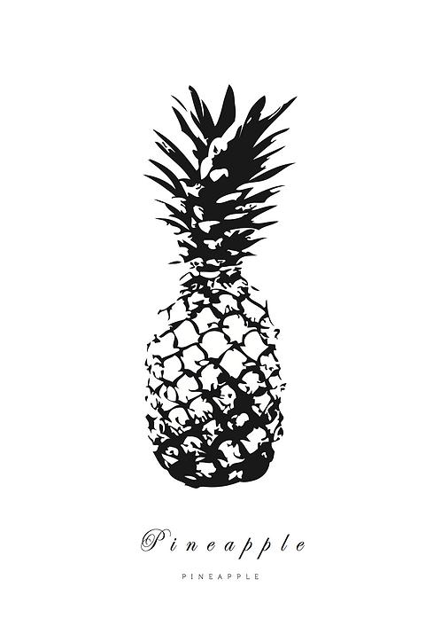 Affisch - Pineapple 02