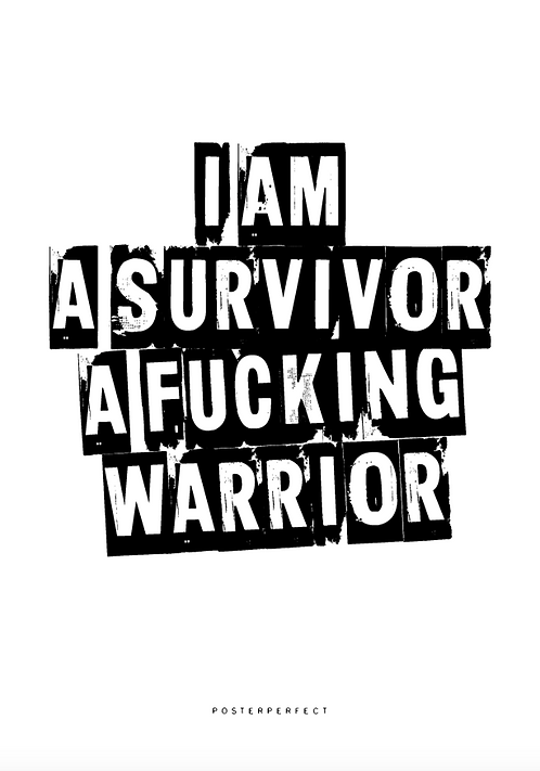 Affisch - I am a Survivor