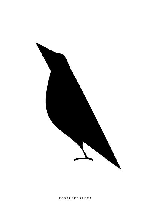 Affisch - Bird
