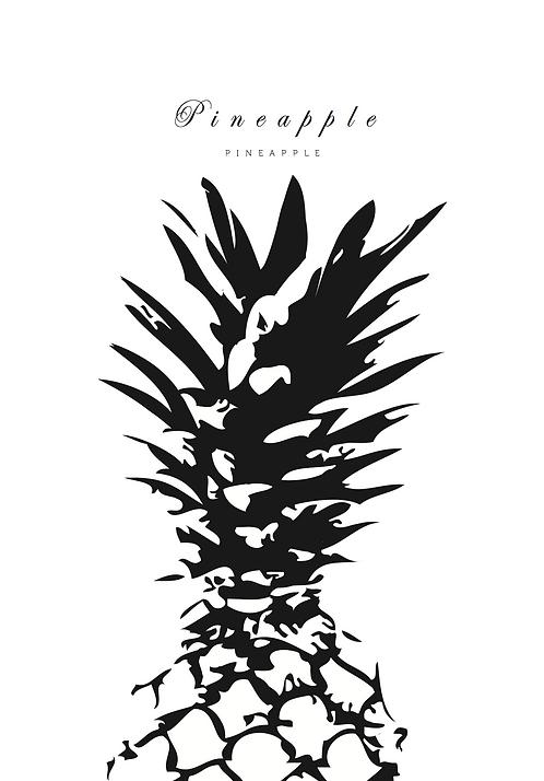 Affisch - Pineapple 03