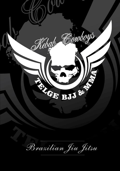 Affisch BJJ - Kebab Cowboys Black