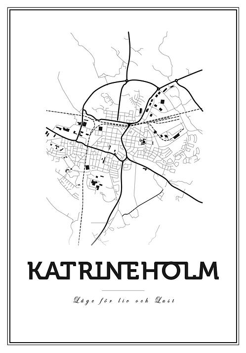 Affisch - Map Katrineholm
