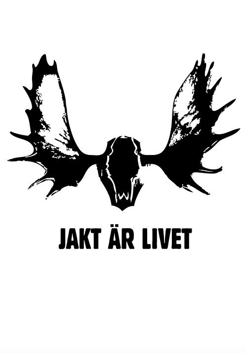 Affisch - Jakt är livet