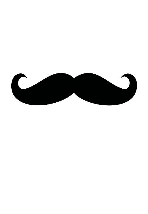 Affisch - Moustach