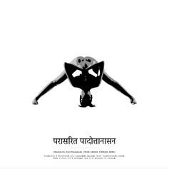 Poster 50x50 - Prasarita Padottanasana 2