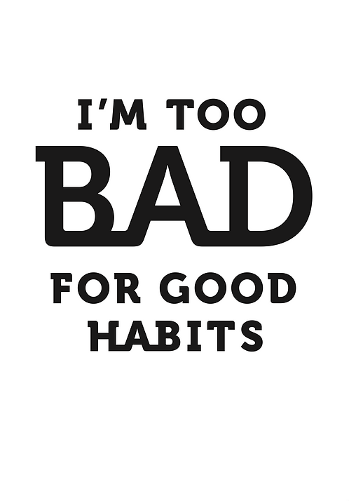 Affisch - I'm Too Bad