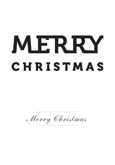 Affisch - Merry Christmas