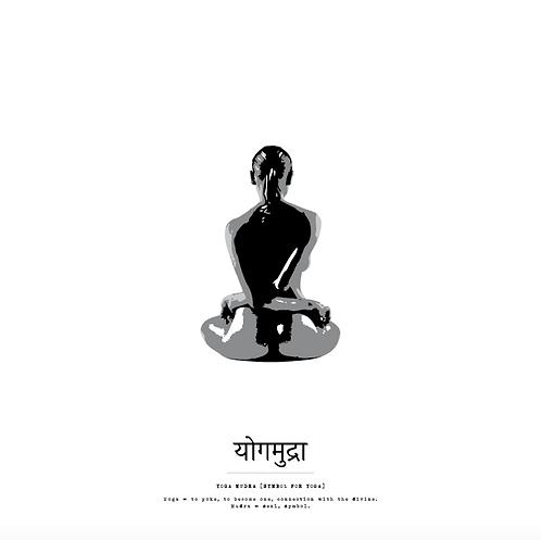 Affisch - Yoga Yoga Mudra