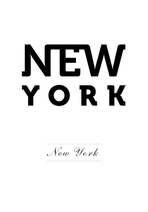 Affisch - New York