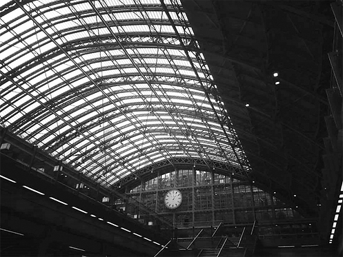 St Pancras station London - Posterperfect featuring Jenny Wande