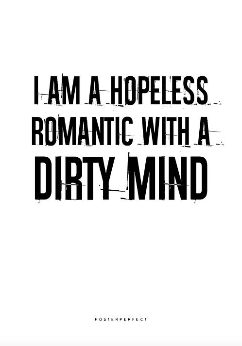 Affisch - Hopeless Romantic