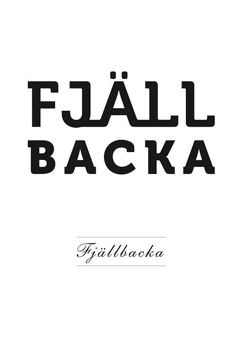 Affisch - Fjällbacka 01
