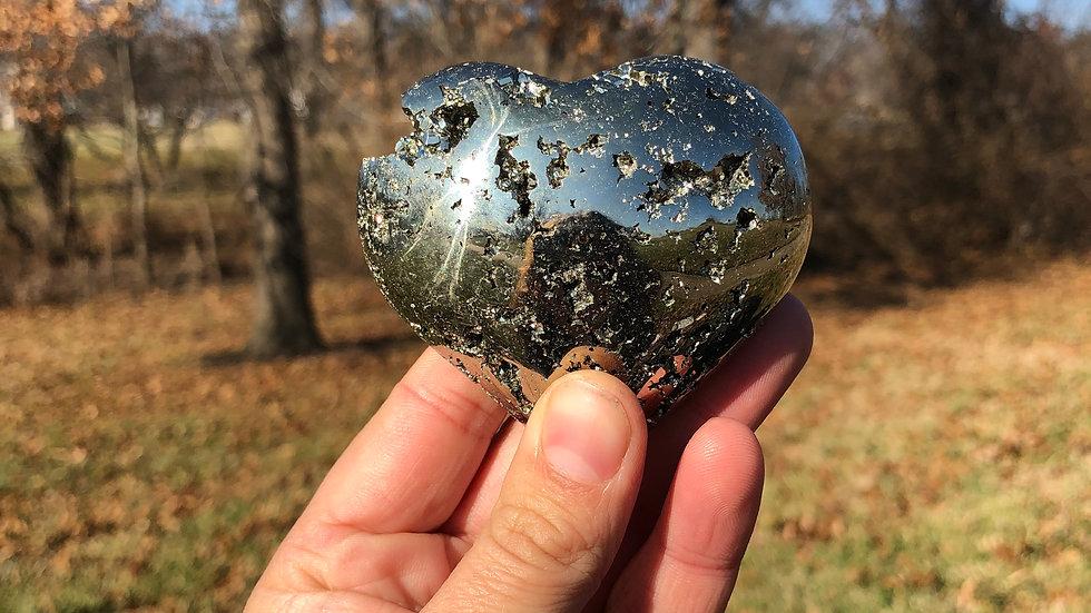 Pyrite Heart (A021)