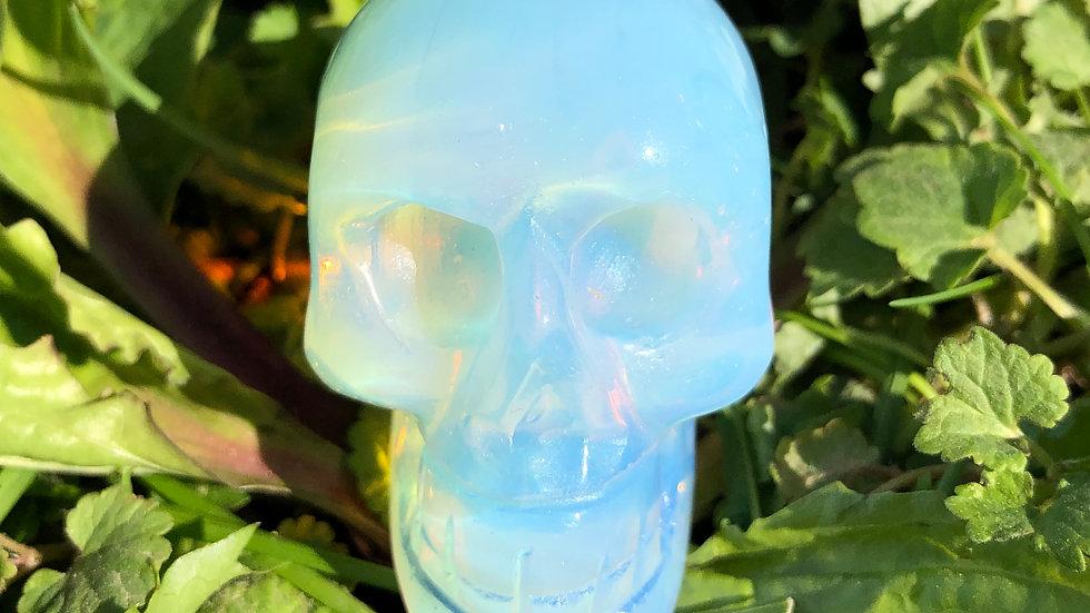 Opalite Skull (A145)