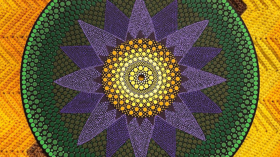 Original Dot Mandala Painting