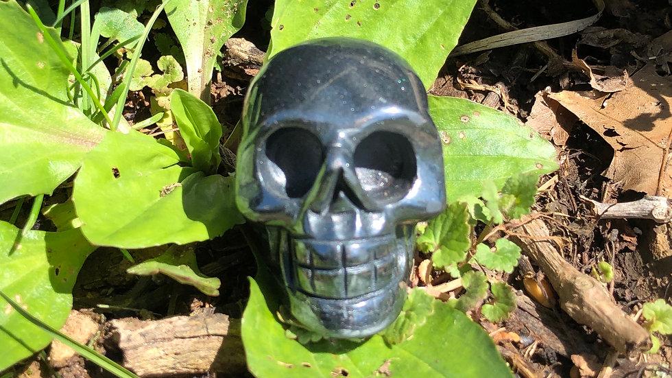 Hematite Skull (A120)