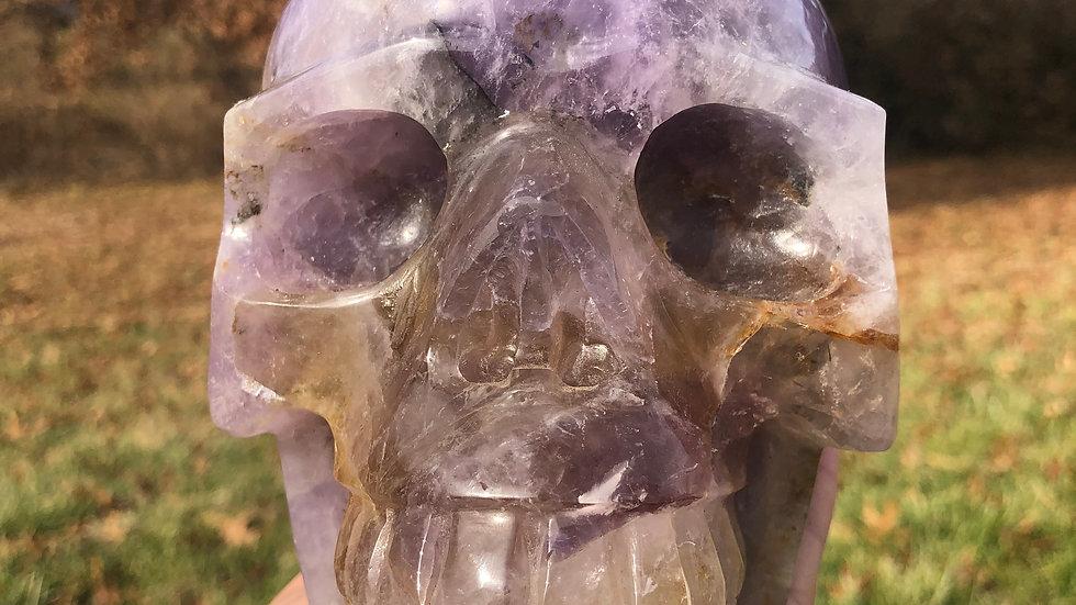 Large Amethyst Skull
