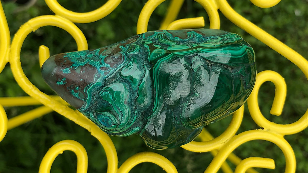 Polished Malachite (A153)