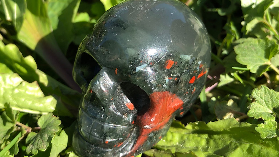 Bloodstone Skull (A146)