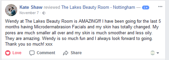 client review facials