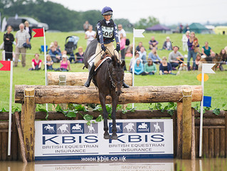 Burghley blog for Horse & Hound: my little Trojan horse with the biggest heart and a choppy trot