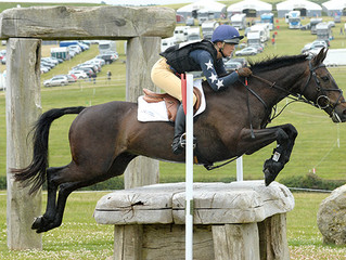 Burghley blog for Horse & Hound: 'we are literally pawns in his game and with every move he wins