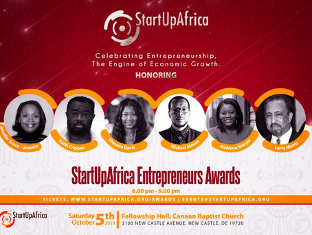 MCWEN Founder named Entrepreneur of the Year by StartUpAfrica